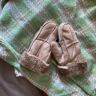エディットフォールル(EDIT.FOR LULU)のムートンミトン 古着vintagemiumiu lochie 手袋(手袋)