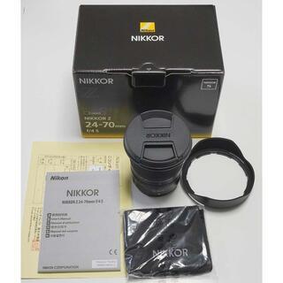 Nikon - 【新同品】NIKKOR Z 24-70mm f/4 S 3年保証