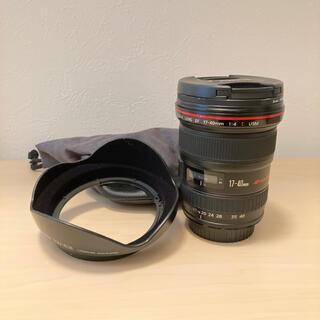 Canon - EF17-40mm F4L USM レンズ