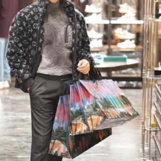LOUIS VUITTON - Luis Vuittonモノグラムジャカードフリースジップスルージャケット