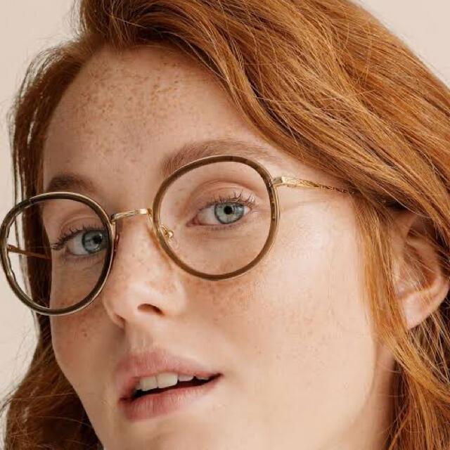Chloe(クロエ)の【新品/未使用】Chloe  クロエ メガネ ブラウン レディースのファッション小物(サングラス/メガネ)の商品写真
