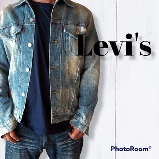 Levi's - Levi's デニムジャケット メンズ ダメージ加工 フィリピン製