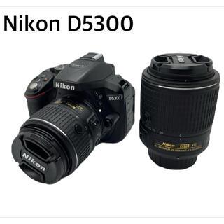 Nikon - Nikon D5300 ダブルズームキット2 BLACK