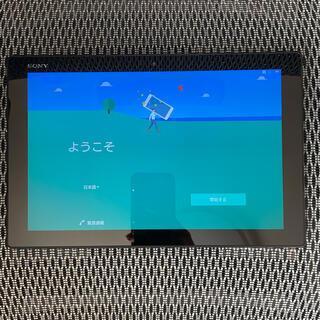 ソニー(SONY)のXperia Z4 Tablet SO-05G ブラック(タブレット)