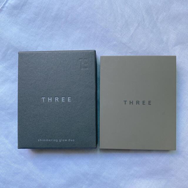 THREE(スリー)のTHREE シマリング グロー デュオ 01 コスメ/美容のベースメイク/化粧品(フェイスカラー)の商品写真