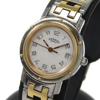 Hermes - エルメス 腕時計  クリッパー ナクレ CL4.221