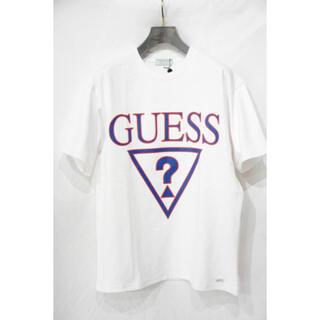 ゲス(GUESS)のGUESS GREEN LABEL★ビッグロゴプリント Tシャツ★XS(Tシャツ/カットソー(半袖/袖なし))