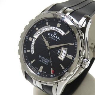 エドックス(EDOX)のエドックス 腕時計  グランドオーシャン デイデイト 83006(腕時計(アナログ))