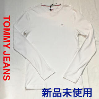 TOMMY HILFIGER - [新品未使用]TOMY JEANS ワンポイントロンT