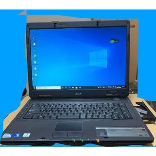 [中古]美品 Acer 5330 W721 15.6ワイド ノートパソコン