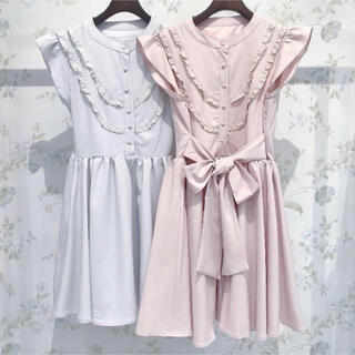 evelyn - ANMILLE evelyn ワンピース ノースリーブ レディース服