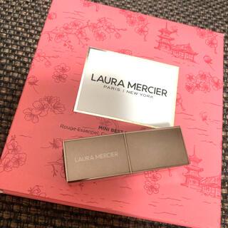 laura mercier - ローラメルシエ ルージュエッセンシャルシルキークリームリップスティックミニ05
