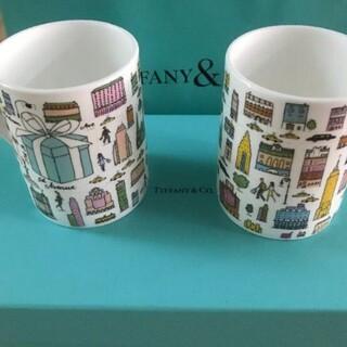 Tiffany & Co. - ティファニー5番街マグカップ 新品同僚からのプレゼントで、なかなか使う機会がなか