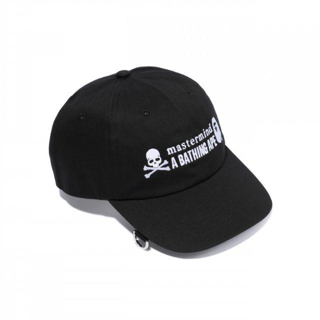 mastermind JAPAN(マスターマインドジャパン)のmastermind VS A BATHING APE コラボキャップ メンズの帽子(キャップ)の商品写真