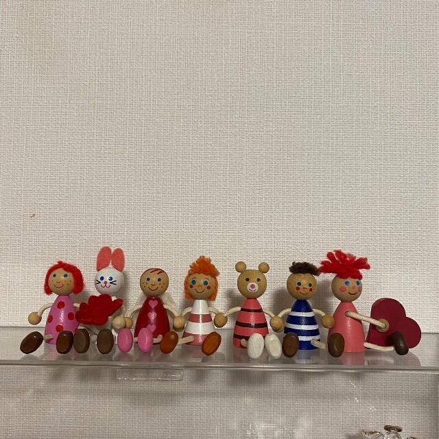 チェコの木の人形  インテリア/住まい/日用品のインテリア小物(置物)の商品写真