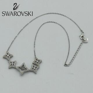 スワロフスキー(SWAROVSKI)のスワロフスキー スパークリング ダンス ネックレス 星 白(ネックレス)