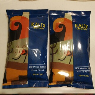 KALDI - ☆KALDI☆コーヒー豆 モーニングブレンド 2袋セット