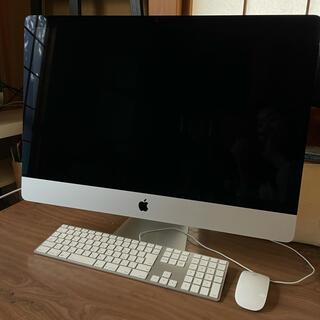 Mac (Apple) - iMac late2015 32GB FD2TB 27インチ MK482J/A