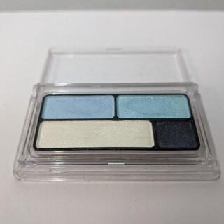 ムジルシリョウヒン(MUJI (無印良品))の無印 アイカラー 4色タイプ ブルー02 アイシャドウ(アイシャドウ)