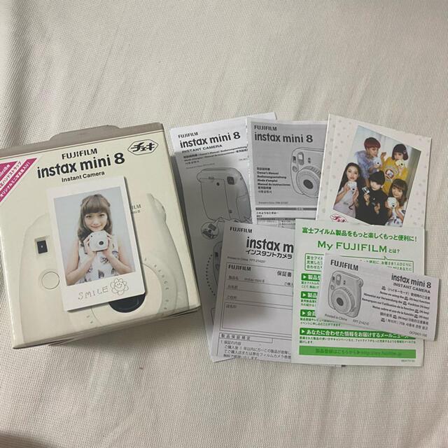 富士フイルム(フジフイルム)のチェキ mini8 スマホ/家電/カメラのカメラ(フィルムカメラ)の商品写真