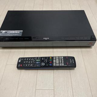 アクオス(AQUOS)のSHARP AQUOS ブルーレイ BD-W1100 B-CASカード付き(ブルーレイレコーダー)