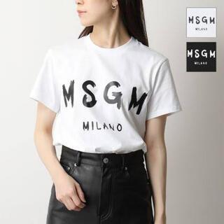 エムエスジイエム(MSGM)の美品!MSGM Tシャツ(Tシャツ(半袖/袖なし))