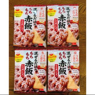 キッコーマン(キッコーマン)のうちのごはん もちもち赤飯 4袋(調味料)
