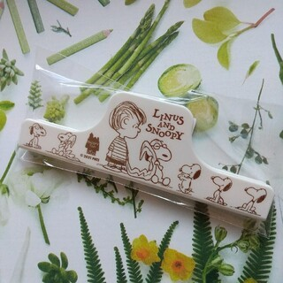 SNOOPY - スヌーピータウン ライナス お菓子クリップ