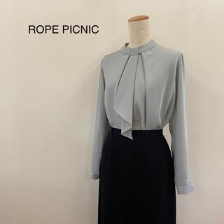 Rope' Picnic - ROPE PICNIC 長袖 ボウタイブラウス サイズ40
