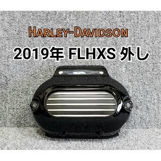ハーレーダビッドソン(Harley Davidson)のハーレーダビッドソン トランスミッションカバー カムカバー グロスブラック(パーツ)