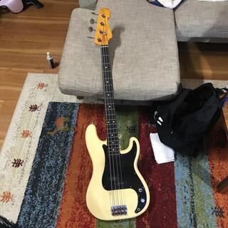 Fender - フェンダージャパン ビンテージ JVシリアル プレジションベース 1982〜4年