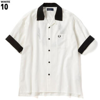 fred perry 半袖シャツ