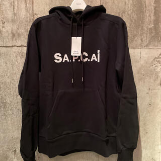 sacai - 正規品 A.P.C. × SACAI アーペーセー サカイ ロゴ パーカー