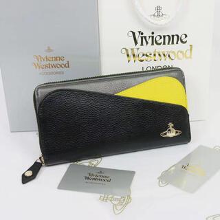 Vivienne Westwood - Vivienne Westwood ☆ 未使用 レザー ロングウォレットブラック
