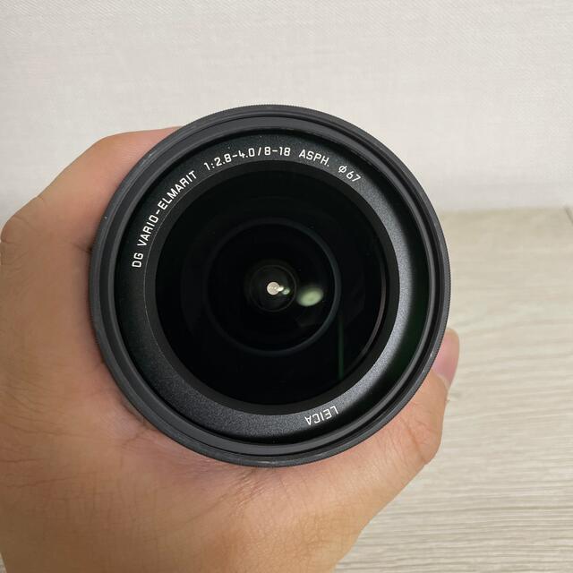 Panasonic(パナソニック)のLUMIX LEICA 8-18mm F2.8-4.0 スマホ/家電/カメラのカメラ(レンズ(ズーム))の商品写真