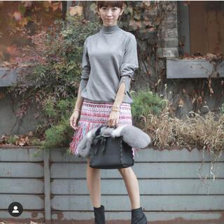Chesty - Miss Adora★ミスアドラ★フリンジスカート★マルチカラー★サイズ0