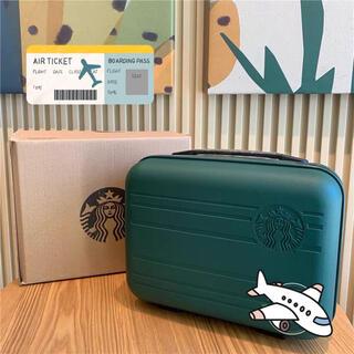 スターバックス スタバ スーツケース  グリーン 旅行 キャリーバッグ