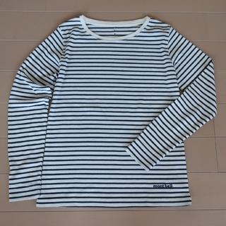 モンベル(mont bell)のmont-bellボーダーロングスリーブT  モンベル(Tシャツ(長袖/七分))