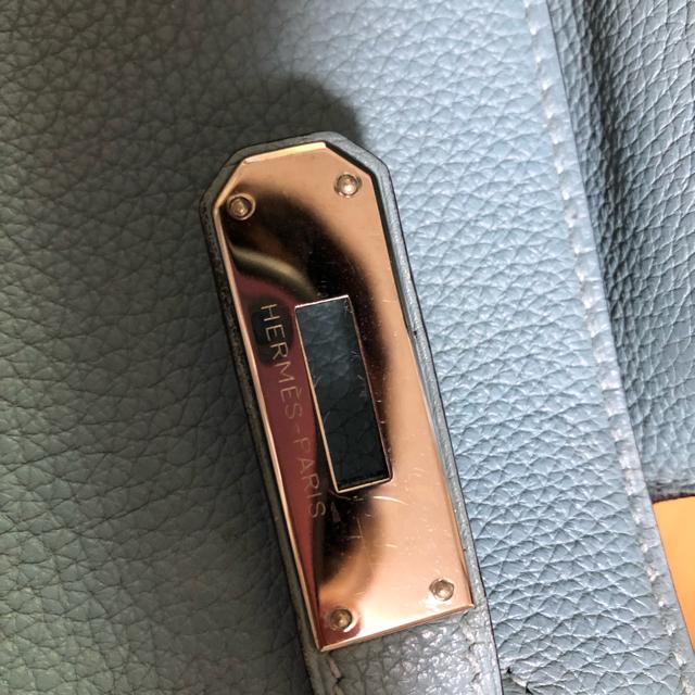Hermes(エルメス)の美品 エルメス ケリー32 トゴ 内縫い ブルー ツイリー付き レディースのバッグ(ショルダーバッグ)の商品写真