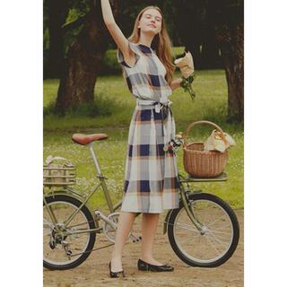 ★新品★ブルーレーベルクレストブリッジ CBチェックコージーローンスカート