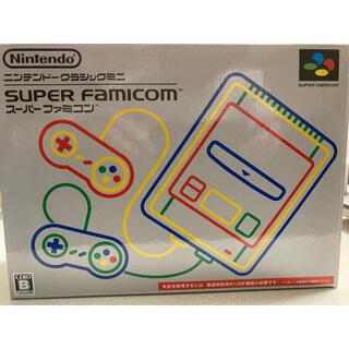任天堂 - Nintendo ゲーム機本体 ニンテンドークラシックミニ スーパーファミコン