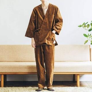 フェリシモ(FELISSIMO)のフェリシモ 細畝コーデュロイ作務衣 新品 サイズ1(その他)