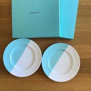 Tiffany & Co. - ティファニー デザートプレート2枚セット