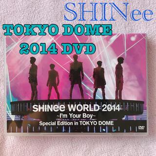 シャイニー(SHINee)のSHINee WORLD 2014 in TOKYO DOME【DVD通常盤】(K-POP/アジア)
