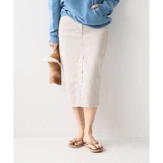 ドゥーズィエムクラス(DEUXIEME CLASSE)のドゥーズィエム 製品染め セイヒンゾメタイトスカート アパルトモン プラージュ(ひざ丈スカート)