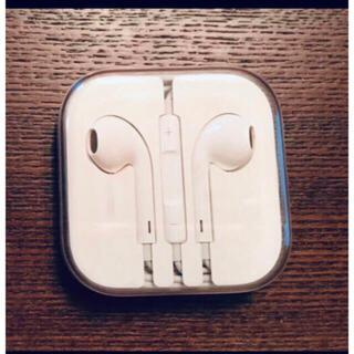 Apple - アップル純正イヤホン iPhone 6 付属品 ジャックタイプ