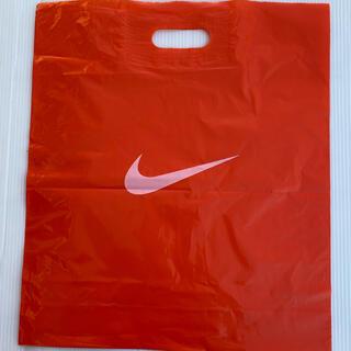 ナイキ(NIKE)のNIKE ナイキ ショップ袋 ビニール 1枚 ショッパー  バッグ 未使用(ショップ袋)