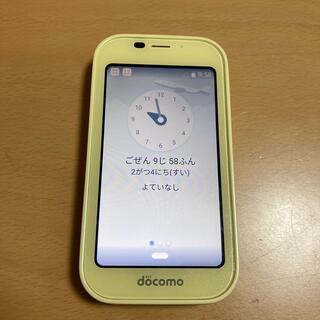 エヌティティドコモ(NTTdocomo)のキッズケータイ docomo(携帯電話本体)
