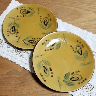 昭和 レトロ 皿 プレート 2枚 セット