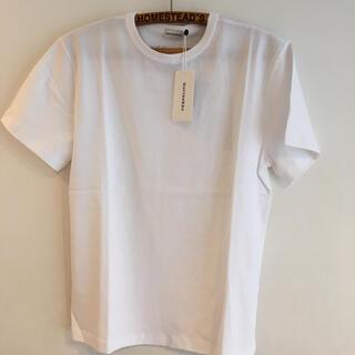 マリメッコ(marimekko)のマリメッコ marimekko tシャツ ホワイト ロゴ入り オシャレの定番(Tシャツ(半袖/袖なし))